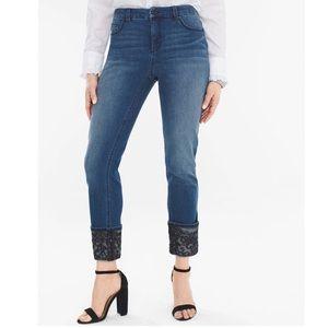 Chico's Ankle Denim Jeans   1R (M/8)